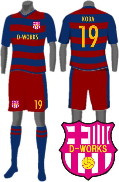 サッカーユニフォーム2016FCバルセロナ